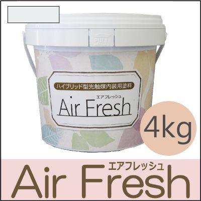 【エントリーでポイント10倍】 イサム AirFresh (エアフレッシュ) Shiro~白のやさしさ~ NO.010キャンパスホワイト [4kg] [SS]