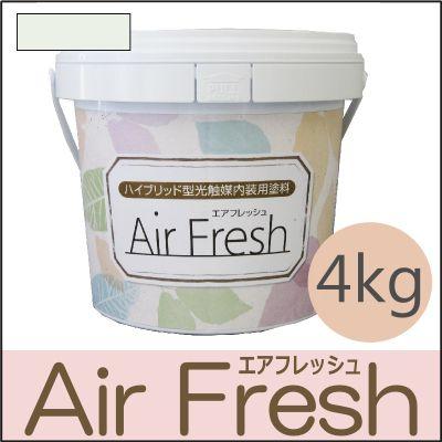 【エントリーでポイント10倍】 イサム AirFresh (エアフレッシュ) Shiro~白のやさしさ~ NO.014ライムホワイト [4kg] [SS]