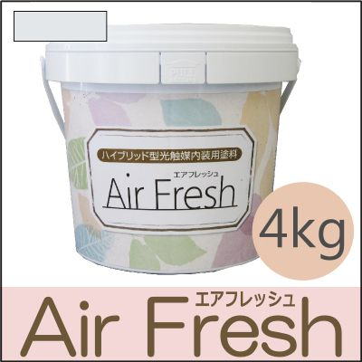 【エントリーでポイント10倍】 イサム AirFresh (エアフレッシュ) Shiro~白のやさしさ~ NO.020ホワイトシェード [4kg] [SS]