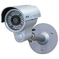 監視用カメラ 白色LEDセンサーライト内蔵カラー監視カメラ セレン SEC-GL7  白色LEDが強力に発光して威嚇!暗い場所でもカラー撮影可能!