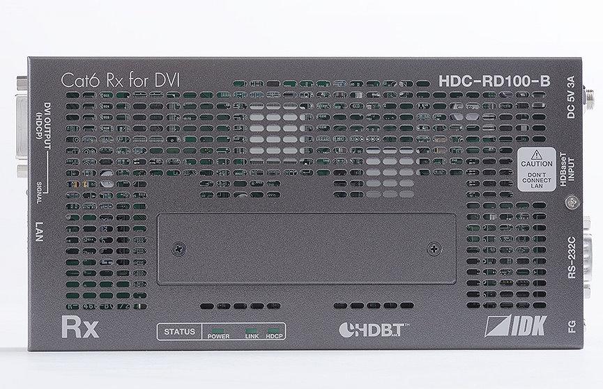 DVIツイストペアケーブル延長器 IDK HDC-RD100-B(受信機)