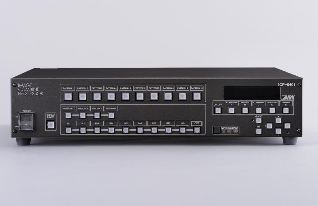 IDK 4画面合成プロセッサ ICP-9401