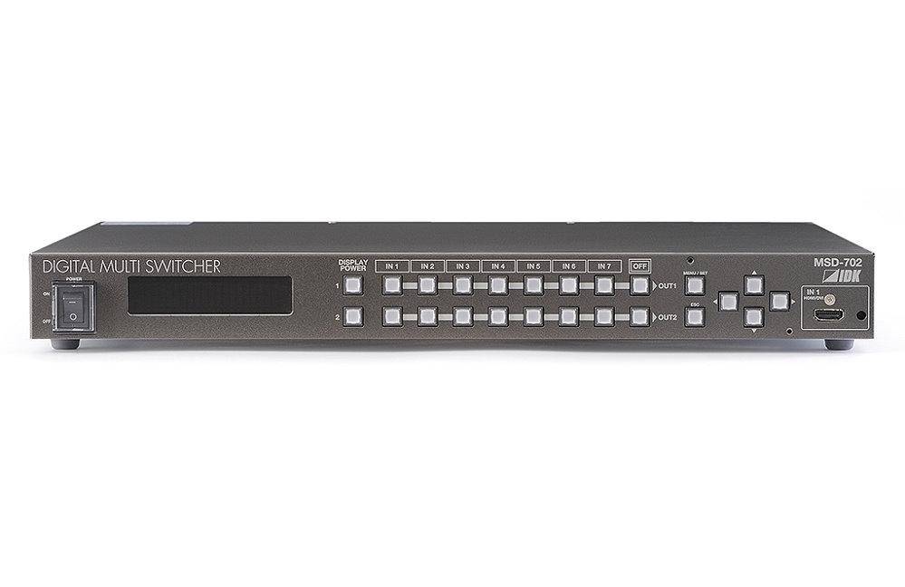 IDK デジタルマルチスイッチャ(HDBaseT出力付) MSD-702