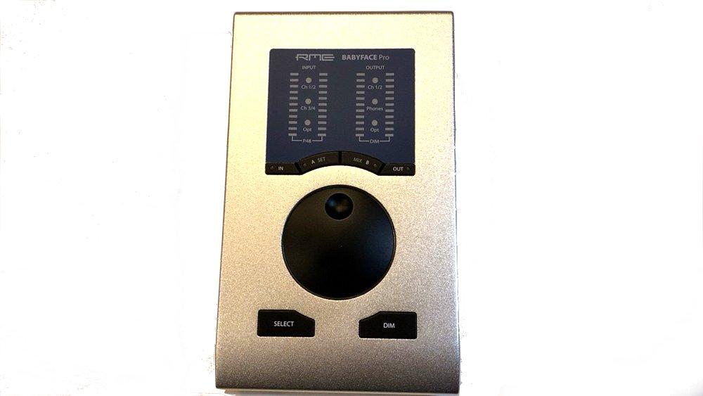 中古品 RME 24bit/192kHzサポート Pro オーディオインターフェース Babyface USBバスパワー対応 12IN/12OUT