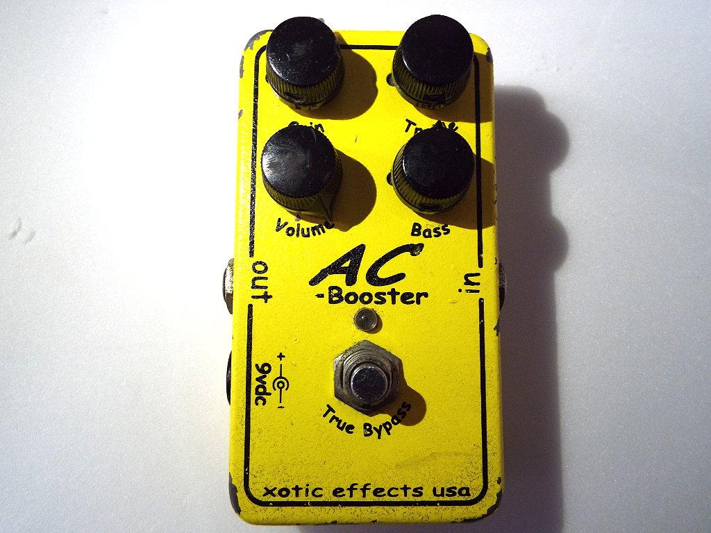 【初期型レア】ギターエフェクター Xotic ブースター AC Booster 中古品