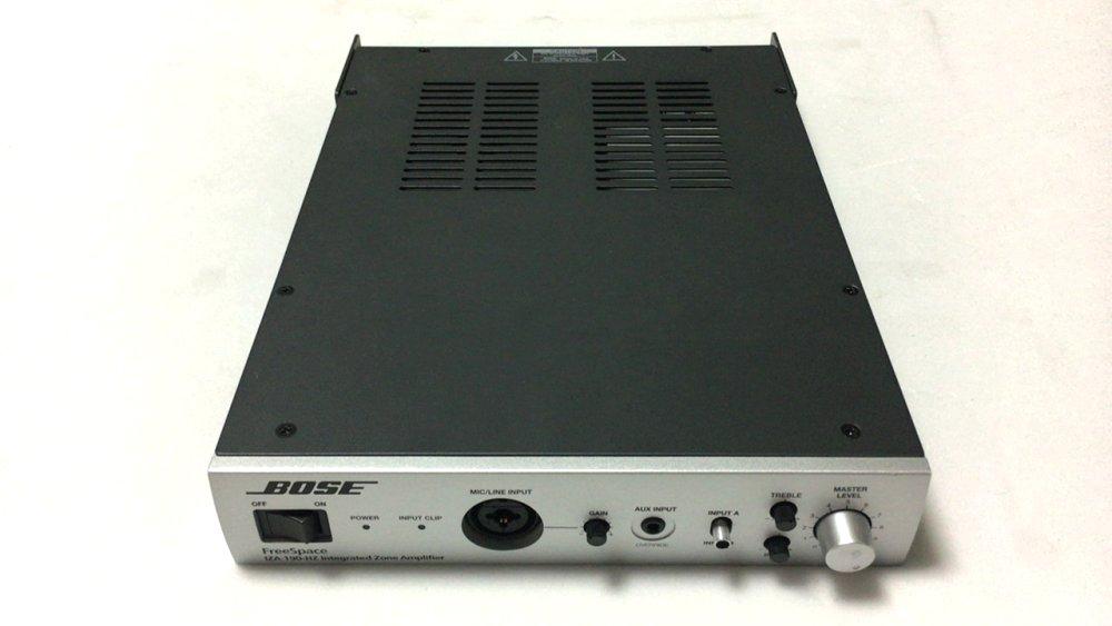 パワーアンプリファイアー BOSE ( ボーズ ) FreeSpace IZA190-LZ 中古品 コンパクト、シンプル操作、高音質の三拍子を揃えた設備用ハイ・インピーダンス・パワーアンプ