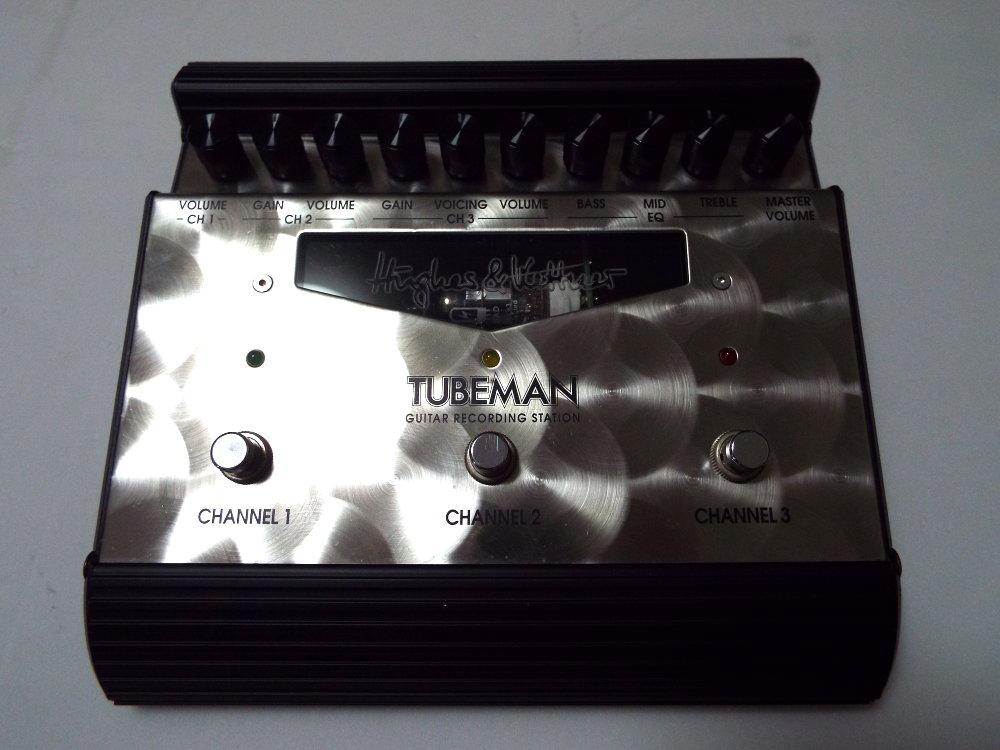 ギターエフェクター(プリアンプ) HUGHES&KETTNER ( ヒュースアンドケトナー ) TUBEMAN2 (チューブマン2) 中古品