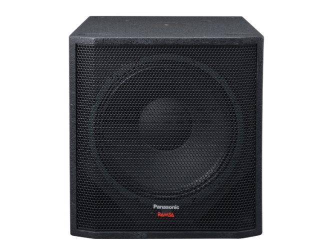 38cm サブウーハー PANASONIC RAMZA WS-HP450 バスレフ形低音再生専用スピーカー