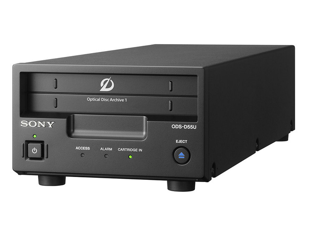 オプティカルディスク・アーカイブドライブユニット SONY ODS-D77U 高速データ転送を実現するドライブユニット