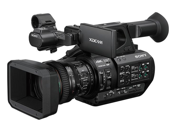 XDCAMメモリーカムコーダー SONY PXW-Z280 新開発1/2インチ4K Exmor R 3CMOSセンサー搭載。4K60Pハンディカムコーダー