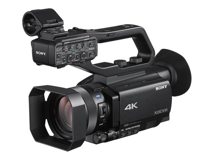 XDCAMメモリーカムコーダー SONY PXW-Z90 最新オートフォーカスと4K HDR記録対応。1.0型積層型CMOSセンサー搭載XDCAMメモリーカムコーダー