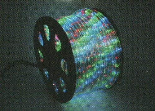 ★クリスマスイルミネーション★LEDロープライト40mマルチカラー 高輝度、ハイクオリティーなロープライトです!