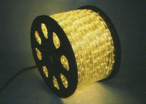 ★クリスマスイルミネーション★LEDロープライト40mウォームホワイト 高輝度、ハイクオリティーなロープライトです!