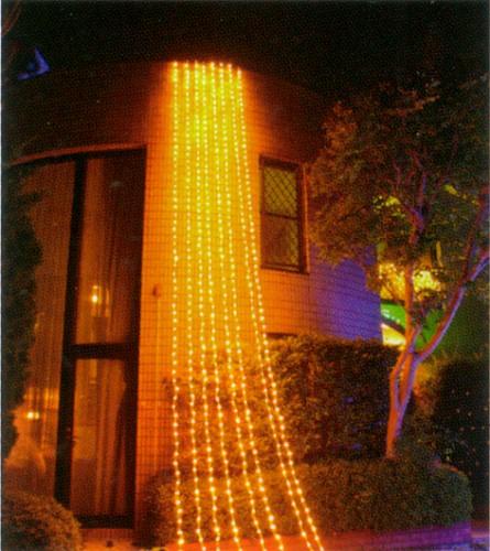 ★クリスマスイルミネーション★768球5mカーテンLEDライト