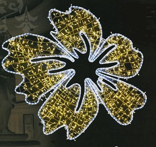 ★イルミネーション★南国シリーズ LEDビックフラワーライト Lサイズ
