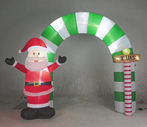 ★クリスマスイルミネーション★エアーディスプレイ サンタサインボード アイキャッチにおすすめ!