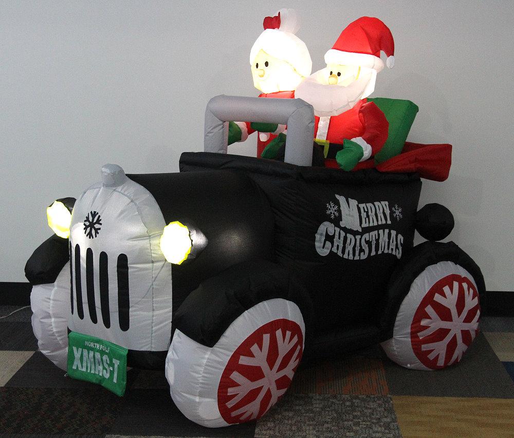 ★クリスマスイルミネーション★エアーディスプレイ クリスマスカ―