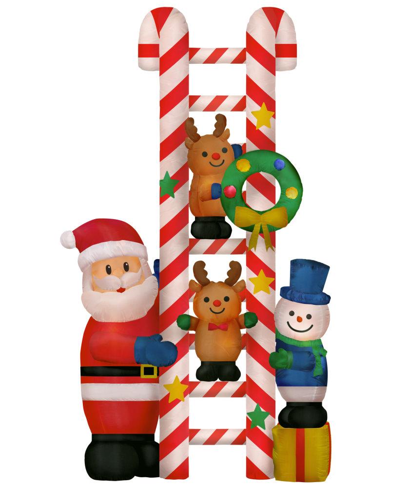 ★クリスマスイルミネーション★エアーディスプレイ クリスマス はしごフレンズ