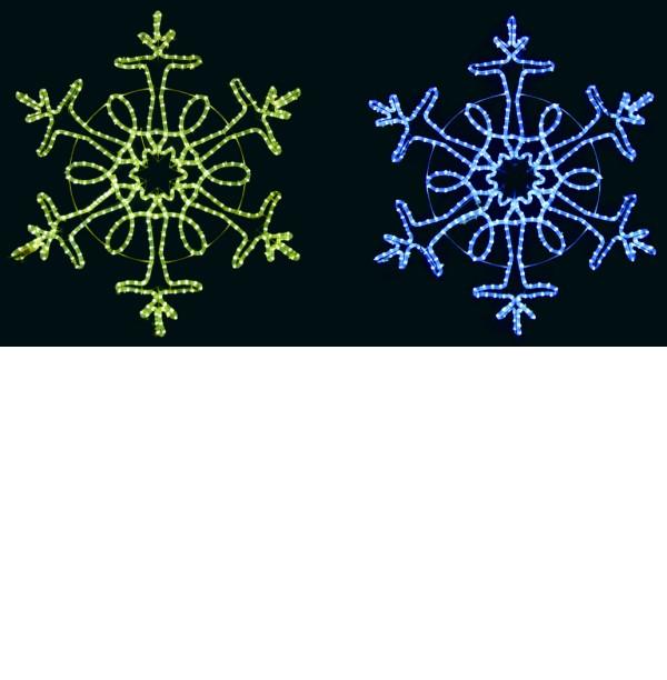 ★クリスマスイルミネーション★LED2Dスノー クリスタル