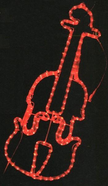 ★クリスマスイルミネーション★LED2Dモチーフ  バイオリン 冬の音楽イベントにはかかせません!