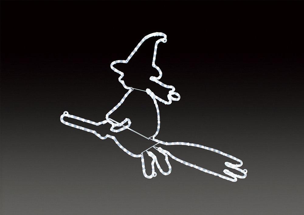★ハロウィンイルミネーション★LEDロープライト 魔女