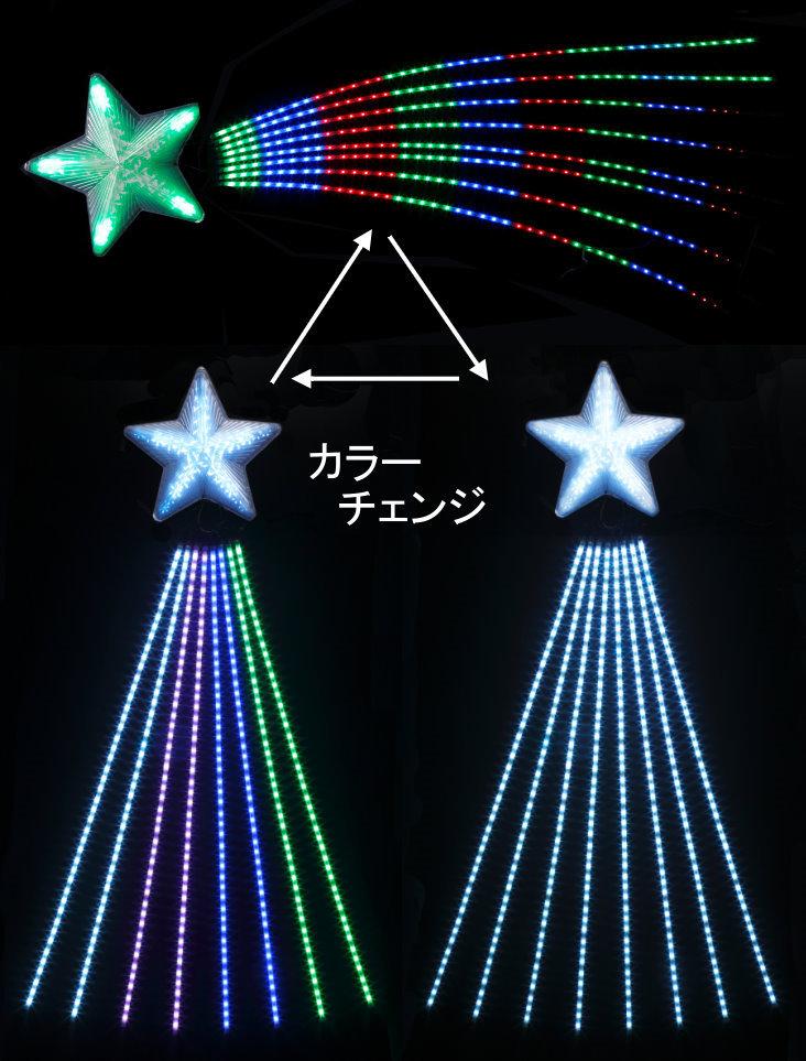 専門店では ★クリスマスイルミネーション★SMDスーパーシューティングスターライト150cm, ground(グラウンド):3fc1bfe1 --- dibranet.com