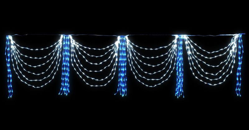 ★クリスマスイルミネーション★LEDドレープライト