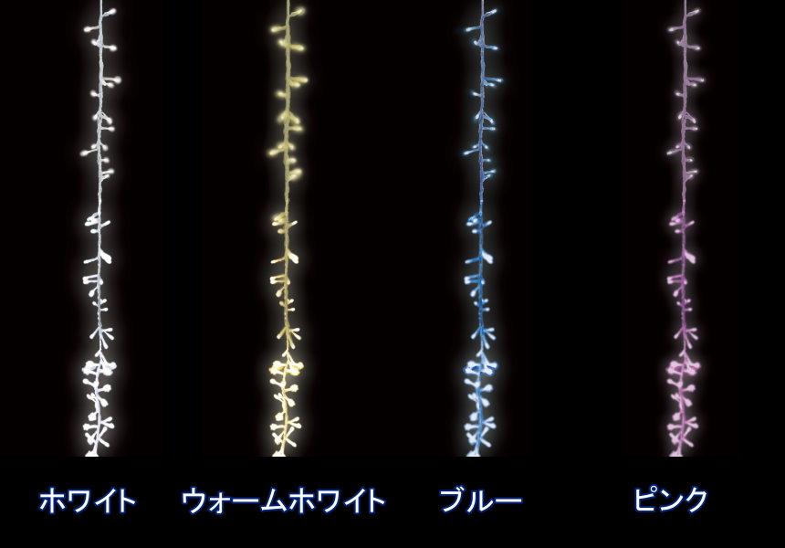 ★クリスマスイルミネーション★ライディングディスプレイ LEDメテオスターストリングライト