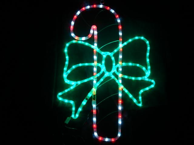 ★クリスマスイルミネーション★食べられません!LEDキャンディーリボン ※完売しました。