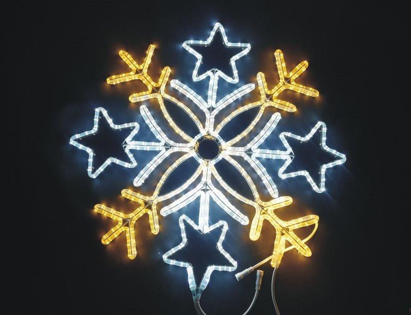 ★クリスマスイルミネーション★2Dスノーフレークモチーフ スノーフレーク80