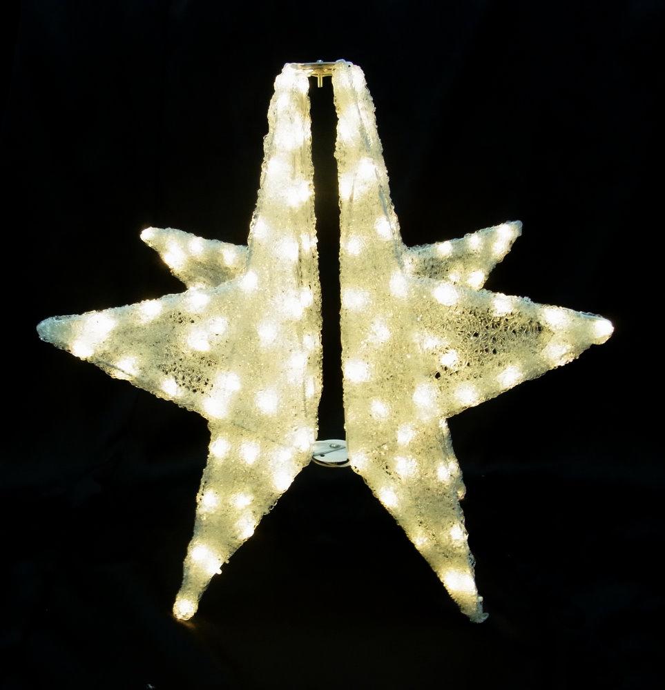 ★クリスマスイルミネーション★3Dモチーフ 3Dスター
