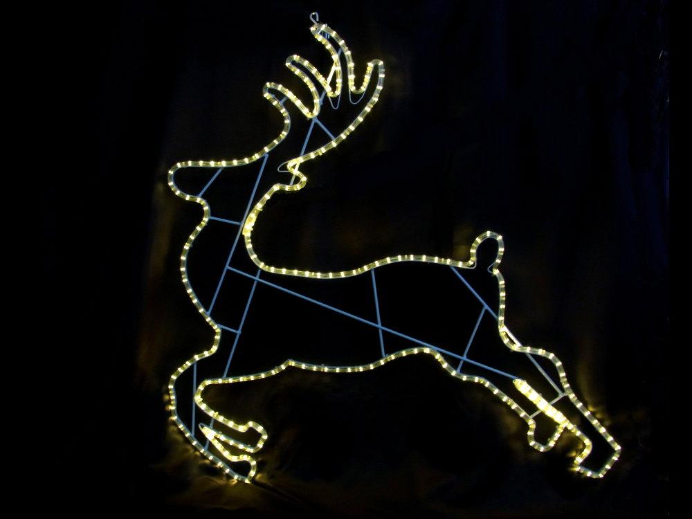 ★クリスマスイルミネーション★LEDランディングトナカイ