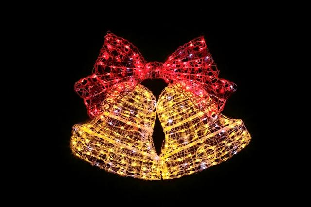 ★クリスマスイルミネーション★LEDクリスタルDXベル ナイアガラのトップライトにオススメ!!!
