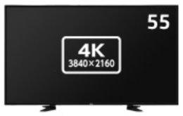 55型大画面4K液晶ディスプレイ NECディスプレイソリューションズ MultiSync LCD-E557Q 他社より安くします!