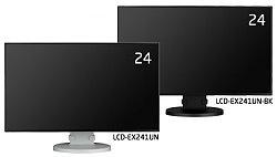 24型IT/スタンダード4辺スリムベゼル採用液晶ディスプレイ NECディスプレイソリューションズ MultiSync LCD-EX241UN、LCD-EX241UN-BK 他社より安くします!