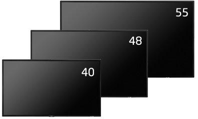 40型大画面液晶ディスプレイ NECディスプレイソリューションズ MultiSync LCD-P404 他社より安くします!