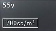 マルチスクリーン対応超狭額縁 55V型LED業務用液晶モニターPANASONIC TH-55LFV70J
