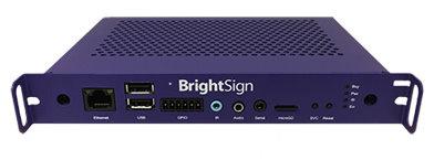 デジタルサイネージ向けメディアプレーヤ BrightSign MP-0523H(スロット内蔵型 OPS規格準拠)