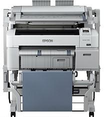 A0サイズダブルロール、PCレス操作、ワンストップ保守サービス 4色機 ポスター/POP/CAD 業務用大型プリンター EPSON SureColor SC-T52DMFP