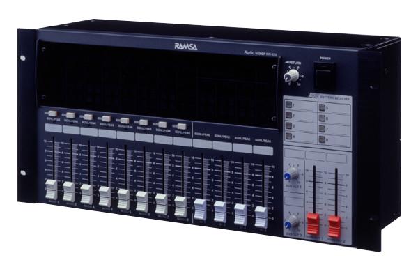 パターンプリセット機能付きコンパクトミキサー(12イン、4アウト) PANASONIC RAMZA WR-X22