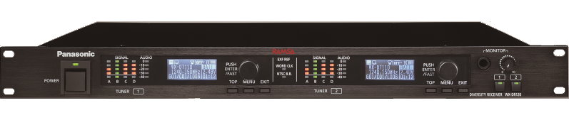 デジタルワイヤレス受信機(据置型) PANASONIC RAMZA WX-DR120