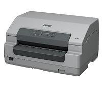 インパクトプリンター コンパクトで用紙位置合わせ不要 EPSON PLQ-30S 使いやすさを重視した単票紙・通帳印刷専用プリンター。