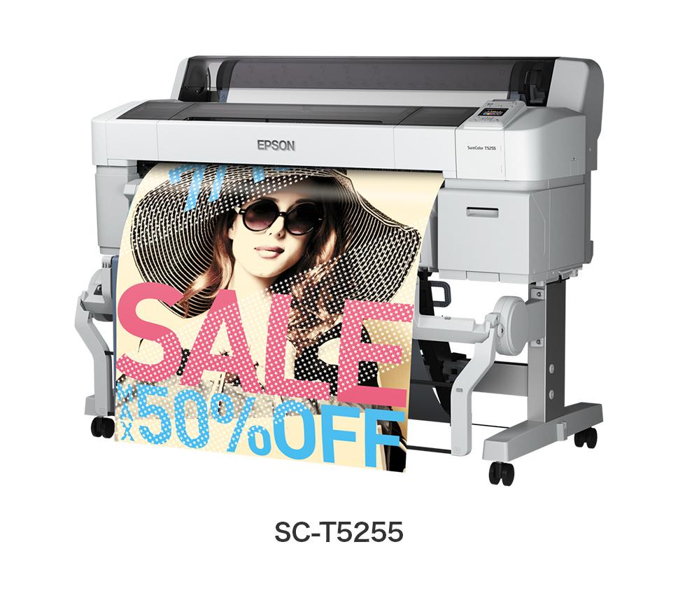 ハイパフォーマンスシリーズ A0プラス対応モデル 4色機 ポスター/POP/CAD 業務用大型プリンター EPSON SureColor SC-T5255