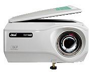 【書画カメラ搭載】超短焦点プロジェクター 加賀電子 AD-1100XS 約70cmの距離から60インチ投映出来ます。