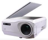 【書画カメラ搭載】プロジェクター 加賀電子 AD-2100X 光学1.6倍ズームレンズ搭載 超広角カメラ搭載
