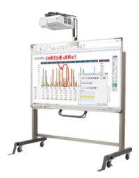プロジェクター版BrainBoard (ノーマル構成) 82型インタラクティブホワイトボード 電子黒板用ペンソフトPenPlusセットモデル 超単焦点プロジェクター[NP-UM352WJL-PN]  ペン入力モデル