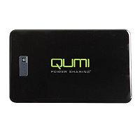 QUMI専用モバイルバッテリー18000mAh ブラック