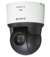 ウェブカメラ SONY SNC-EP580 高倍率ズームを搭載し、コストパフォーマンスに優れたフルHD映像出力対応の旋回型ネットワークカメラ