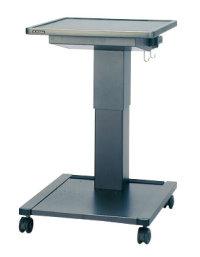 アジャスタブルスタンド 共栄商事(AURORA) AS-700 安全・便利機能を盛り込んだプロジェクター用 ガス圧昇降式テーブル