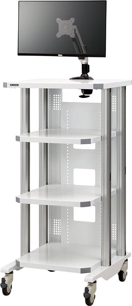 ユーティリティーカート 共栄商事(AURORA) MC-1200MA2 内視鏡検査などで最適な医療用オールインワンカート!